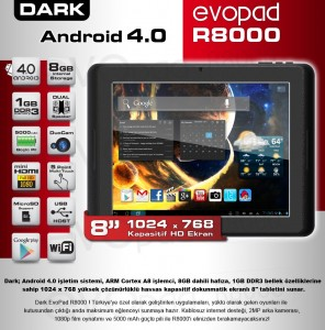 Dark Evopad R8000