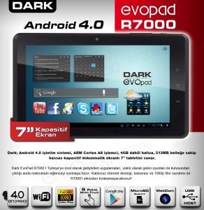Dark evopad R7000